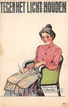 sew001045 - Sewing Postcard