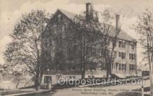 sha000002 - Central Brick Shaker Dwelling Shaker Village, Sabbathday Lake, Maine Postcard Postcards Postal used 1931