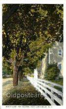 Maple Lane, East Canterbury, New Hamshire, USA