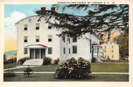 sha500334 - Old Vintage Shaker Post Card