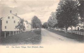 sha500350 - Old Vintage Shaker Post Card