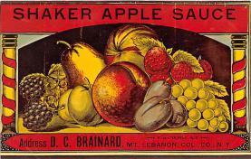 sha500374 - Old Vintage Shaker Post Card