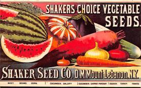 sha500375 - Old Vintage Shaker Post Card