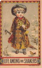 sha500384 - Old Vintage Shaker Post Card