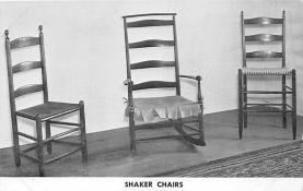 sha600243 - Old Vintage Shaker Post Card