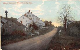 sha700291 - Shaker Postcards Old Vintage Antique Post Cards