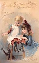 sha700559 - Shaker Old Vintage Antique Trade Card