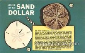 she001021 - Legend of the Sand Dollar  Postcards Post Cards Old Vintage Antique