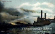 shi000002 - Fire Ship Boat Postcard Postcards