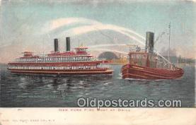 shi000015 - Fire Boat Postcard