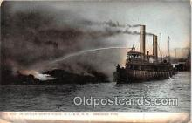 shi000016 - Fire Boat Postcard