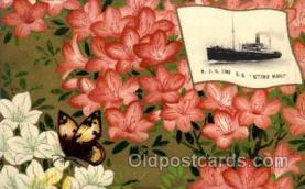 shi001076 - Kitano Maru N.Y.K. Shipping, Nippon Yusen Kaisha ships Postcard Postcards
