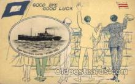 shi001078 - Kitano Maru N.Y.K. Shipping, Nippon Yusen Kaisha ships Postcard Postcards