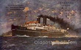 shi001084 - Nagasaki Maru N.Y.K. Shipping, Nippon Yusen Kaisha ships Postcard Postcards