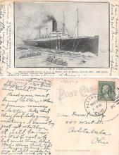 shi002032 - Titanic Ship Ships Postcard Postcards