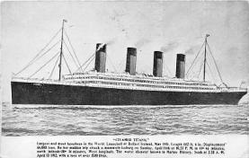 shi002036 - Titanic Ship Ships Postcard Postcards