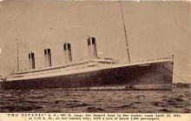 shi002043 - Titanic Ship Ships Postcard Postcards