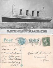 shi002052 - Titanic Ship Postcard Postcards
