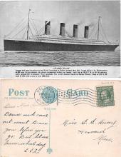 shi002052 - Titanic Ship Postcard Postcards