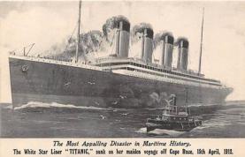 shi002058 - Titanic Ship Ships Postcard Postcards