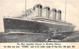 shi002059 - Titanic Ship Ships Postcard Postcards