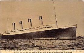 shi002077 - White Star Line Steamer Titanic Ship Ships Postcard Postcards
