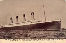 shi002099 - Titanic Ship Postcard Postcards
