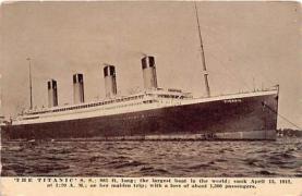shi002099 - Titanic Ship Postcard Postcards