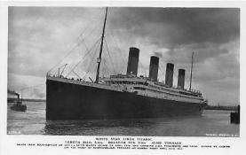 shi002100 - Titanic Ship Postcard Postcards