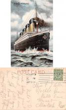 shi002108 - Titanic Ship Postcard Postcards