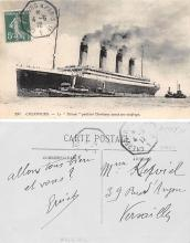 shi002117 - Titanic Ship Postcard Postcards