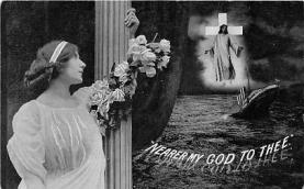 shi002133 - Nearer, My God to Thee,Titanic Ship Postcard Postcards