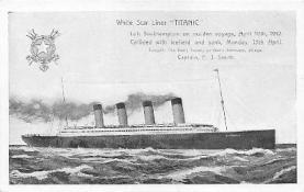 shi002138 - Titanic, Ship Shps, Ocean Liners,  Postcard Postcards