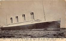 shi002147 - Titanic Ship Postcard Post Cards