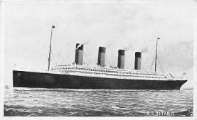 shi002152 - Titanic Ship Post Card Postcards