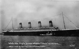 shi002161 - Titanic Ship Post Card Postcards