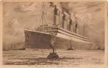 shi002166 - Olympic Ship Old Vintage Antique Postcard Post Cards