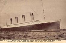 shi002167 - SS Titanic Titanic Ship Old Vintage Antique Postcard Post Cards