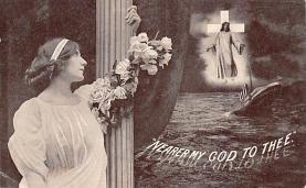 shi002210 - Titanic Ship Post Card Old Vintage Antique
