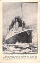 shi002222 - Titanic Ship Post Card Old Vintage Antique