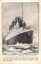 shi002222 - Titanic Ship Post Card Old Vintage Antique