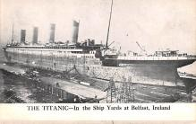 shi002228 - Titanic Ship Post Card Old Vintage Antique