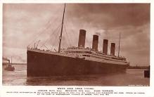 shi002242 - Titanic Ship Post Card Old Vintage Antique