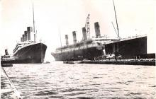 shi002270 - Titanic Ship Post Card Old Vintage Antique