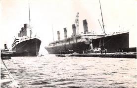 shi002270 - Titanic Ship Post Card Old Vintage Antique