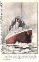 shi002276 - Titanic Ship Post Card Old Vintage Antique