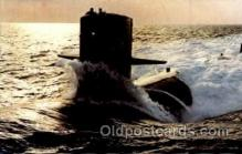 shi003092 - Military nuclear Submarine Poscard Postcards