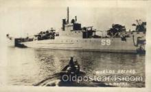 shi003096 - Worlds Record, Built in 10 days 22 hours, Military Ship Ships Poscard Postcards