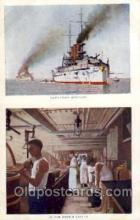 shi003168 - Battleship Missouri, In the cook galley, Military Ship Ships Postcard Postcards