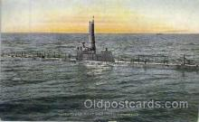 shi003211 - Underseas Boat Military Ship, Ships, Postcard Postcards